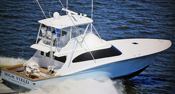 Charleston SC Offshore Fishing Boat High Yield